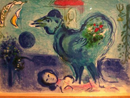 Libro Ilustrado Chagall - Sur quatre murs