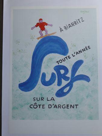 Cartel Savignac - Surf à Biarritz toute l'année sur la côte d'argent