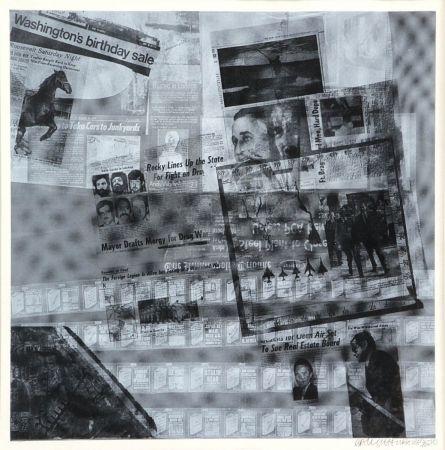 Serigrafía Rauschenberg - Surface series