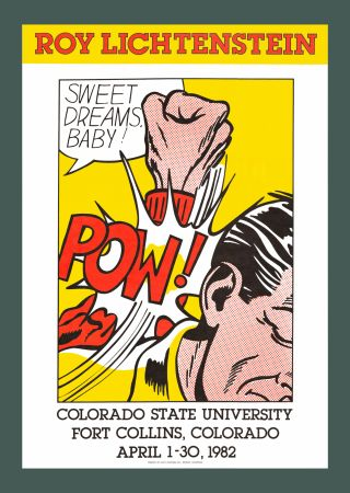 Serigrafía Lichtenstein - Sweet Dreams, Baby! (Hand Signed)