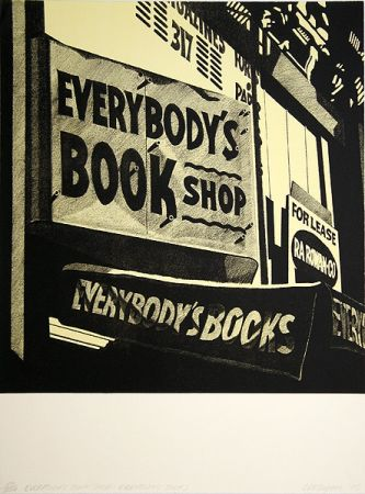 Litografía Cottingham - Switzerland Everybody´s bookshop