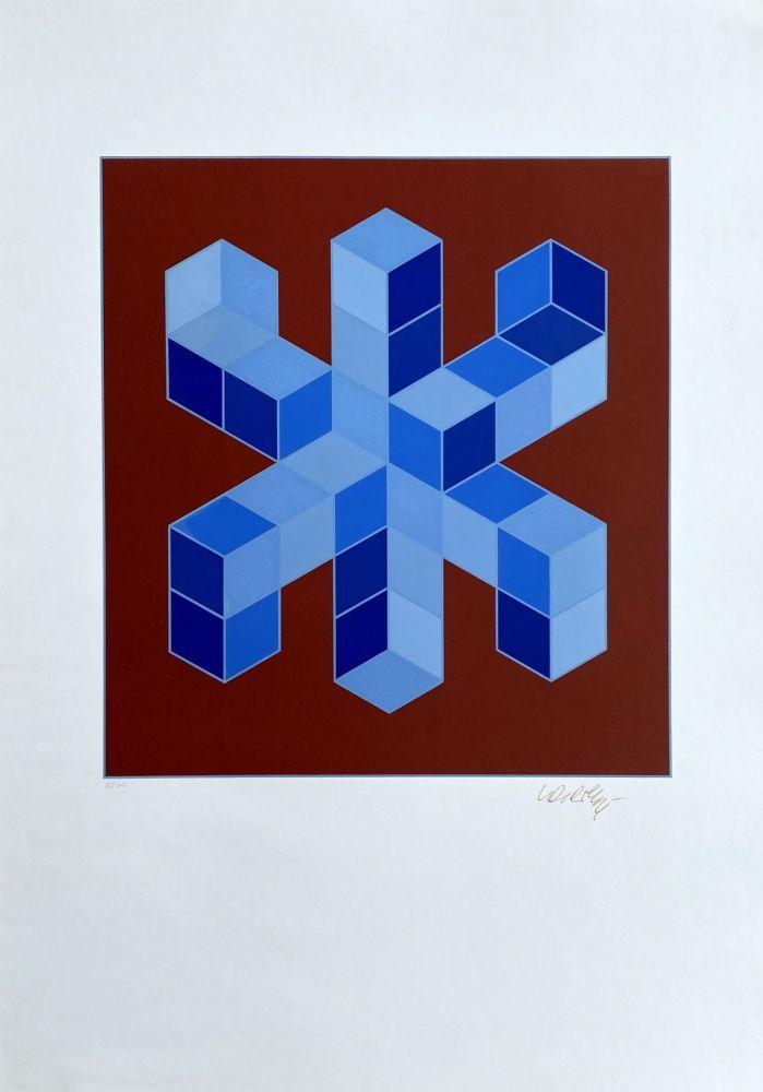 Serigrafía Vasarely - Sylla-6