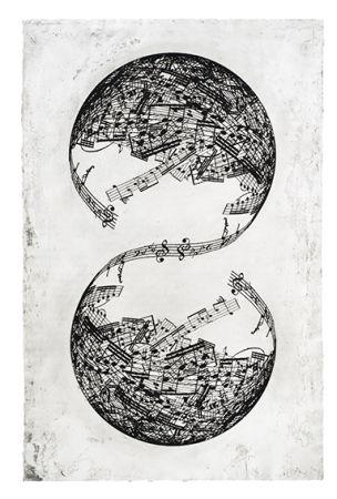 Grabado Plensa - Symétrie