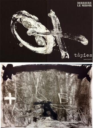 Libro Ilustrado Tapies - TÀPIES. Monotypes . Derrière le Miroir n° 210. Juin 1974