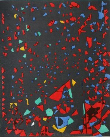 Pochoir Zeid - Témoignages pour l'art abstrait