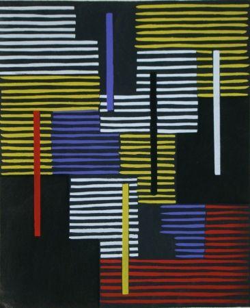 Pochoir Fleischmann - Témoignages pour l'art abstrait