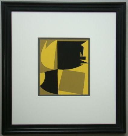 Pochoir Vasarely - Témoignages pour l'art abstrait