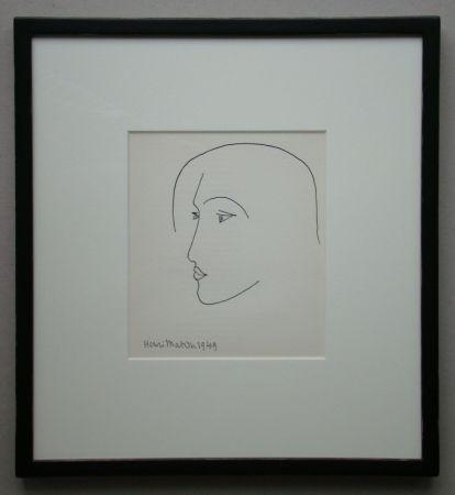 Litografía Matisse - Tête, 1949
