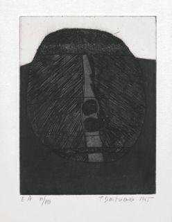 Grabado Dmitrienko -  Tête archaïque
