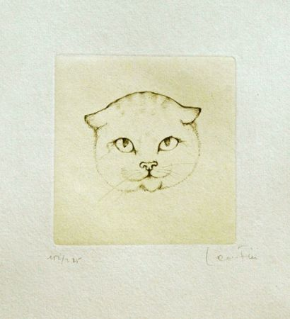 Grabado Fini - Tête De Chat