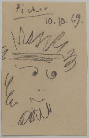 Sin Técnico Picasso - Tête de Faune (Faun's Head)