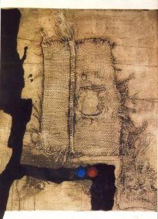 Aguafuerte Clavé - Table et toile de sac