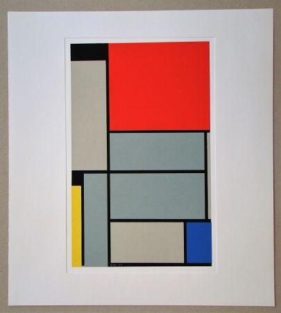 Serigrafía Mondrian - Tableau I. - 1921