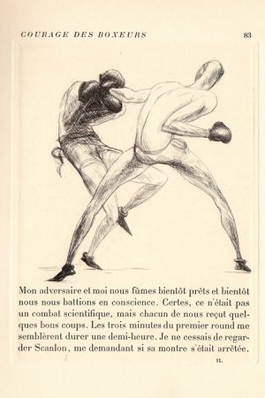 Libro Ilustrado De Segonzac - Tableaux contemporains: Tableau des Courses, de la Boxe, de la Vénérie, de l'Amour Vénal, des Grands Magasins, de la Mode, de l'Au-Delà, du Palais, de la Bourgeoisie.