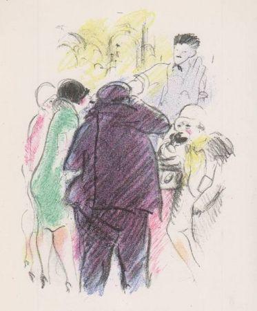Libro Ilustrado Vertes - Tableaux contemporains: Tableau des Courses, de la Boxe, de la Vénérie, de l'Amour Vénal, des Grands Magasins, de la Mode, de l'Au-Delà, du Palais, de la Bourgeoisie.