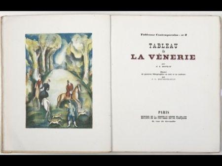Libro Ilustrado Boussingault - Tableaux contemporains: Tableau des Courses, de la Boxe, de la Vénérie, de l'Amour Vénal, des Grands Magasins, de la Mode, de l'Au-Delà, du Palais, de la Bourgeoisie.