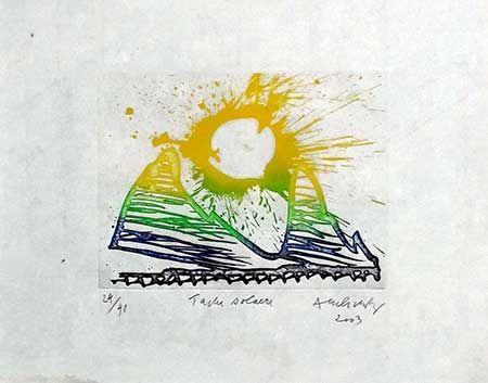 Grabado Alechinsky - Tache Solaire