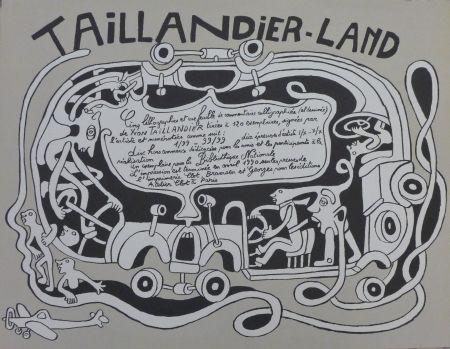 Litografía Taillandier - Taillendier Land