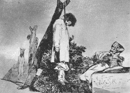 Aguafuerte Goya - Tampoco