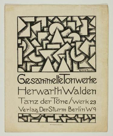 Litografía Bauer - Tanz der Töne (Dance of Sounds)
