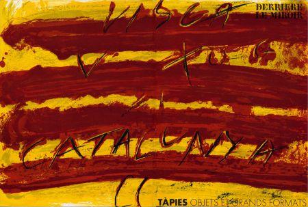 Libro Ilustrado Tapies - TAPIES : Objets et grands formats. DERRIÈRE LE MIROIR N° 200. 1972