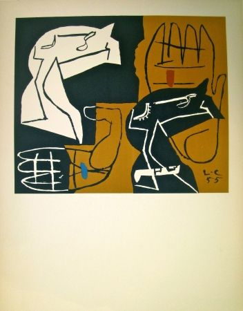 Litografía Le Corbusier - Tapisseries (before lettering)