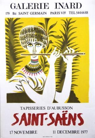 Litografía Saint Saens - Tapisseries D'Aubusson Galerie Inard