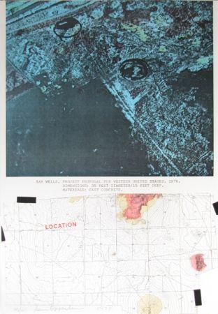 Serigrafía Oppenheim - Tar Wells