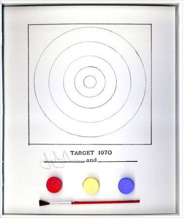 Litografía Johns - Target