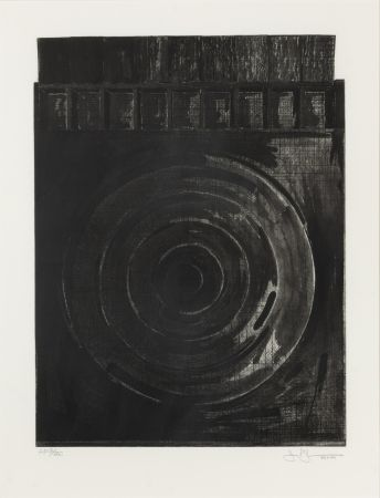 Sin Técnico Johns - Target with Plaster Casts (Black & White)