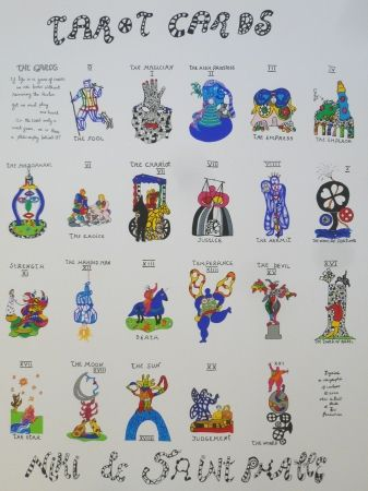 Serigrafía De Saint Phalle - TAROTS CARDS