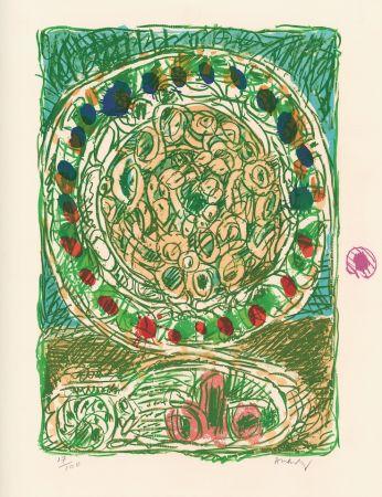 Litografía Alechinsky - Tarte al'jotte