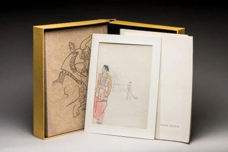 Libro Ilustrado Cocteau - Taureaux