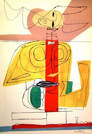 Litografía Le Corbusier - Taurus