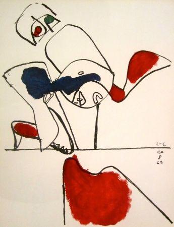 Litografía Le Corbusier - Taurus XVII