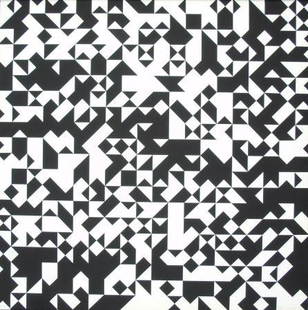 Serigrafía Morellet - Tavola 7