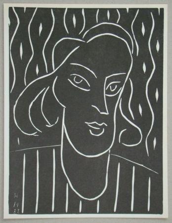 Linograbado Matisse - Teeny, 1938