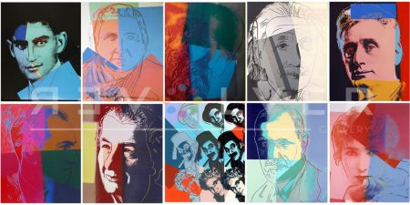 Serigrafía Warhol - Ten Portraits of Jews of the Twentieth Century (Trial Proof) (Full Suite)