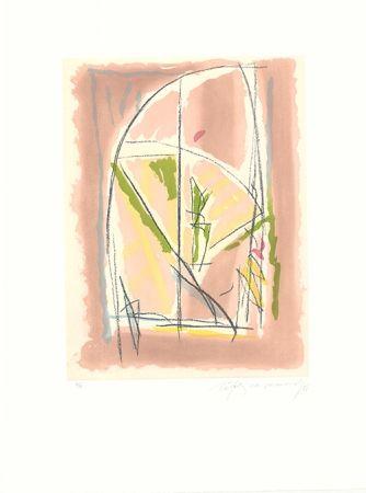 Aguafuerte Y Aguatinta Ràfols Casamada - Terrasses-6
