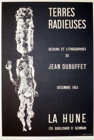 Litografía Dubuffet - Terre radieuse, la hune