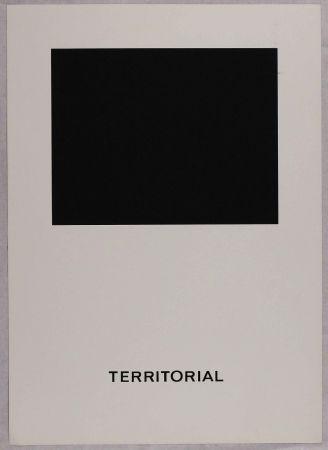 Serigrafía Agnetti - Territorial from 'Spazio perduto e spazio costruito' portfolio, Plate B