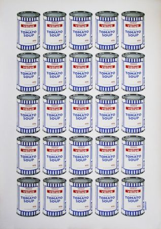 Litografía Banksy - Tesco Soup Can