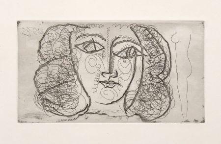 Sin Técnico Picasso -  Tete de femme de face (Small))