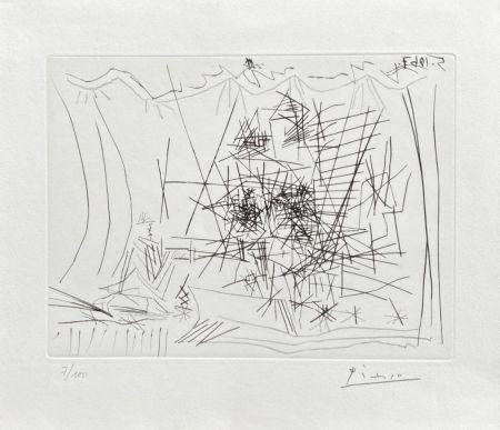 Grabado Picasso - Théâtre