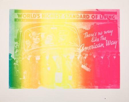 Serigrafía Lawrence - The American Way #17