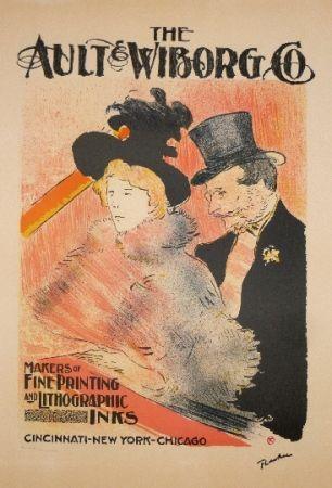 Litografía Toulouse-Lautrec - The ault Wiborg