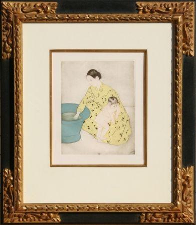 Grabado Cassatt - The Bath