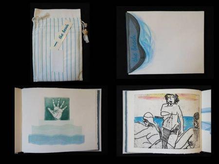 Libro Ilustrado Allix - The Beach, a short story