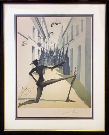 Litografía Dali - THE BIRD HAS FLOWN