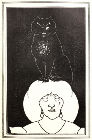 Relieve Beardsley - The black Cat